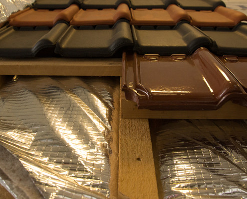 dak isoleren met isolatiefolie